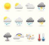 Weather Icon Set | Elegant Series