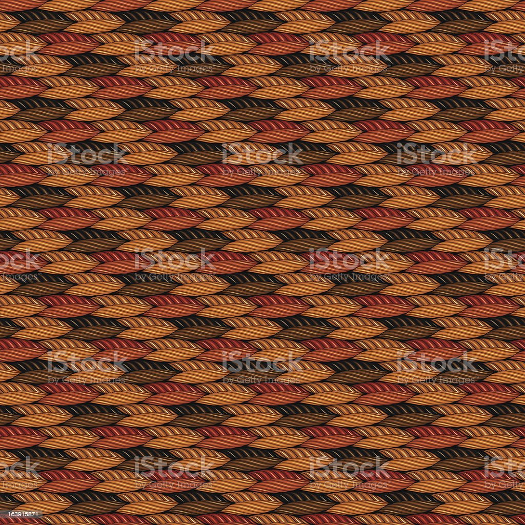 Weaving fabric royalty-free stock vector art