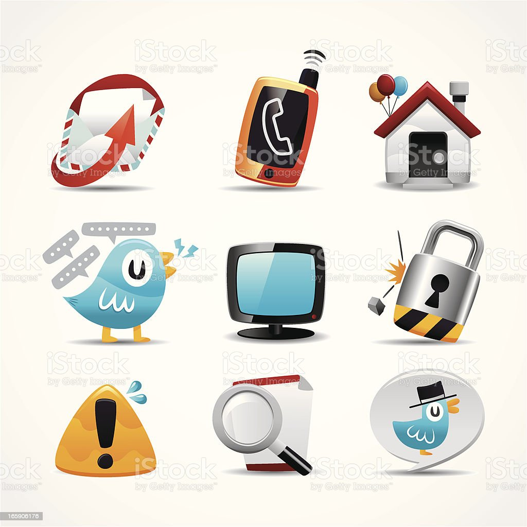 web icon vector art illustration