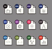 Web Icons - File Formats 8