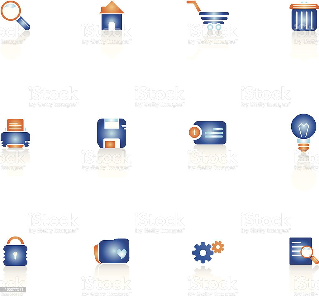 Web Tool Icons royalty-free web tool icons stock vector art & more images of blue