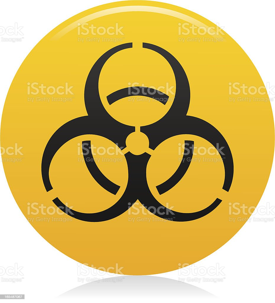 Website & Internet Icon : Biohazard / Warning royalty-free website internet icon biohazard warning stock vector art & more images of biohazard symbol