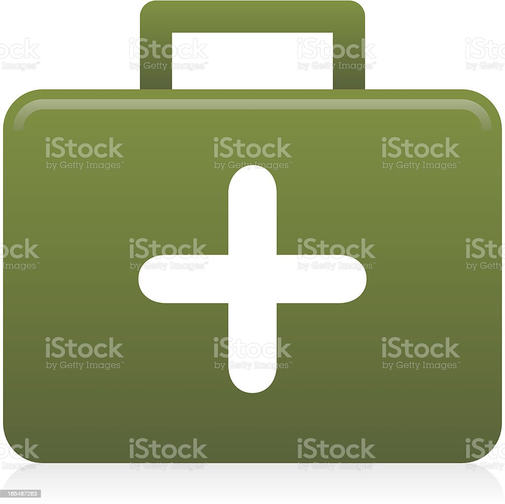 Website & Internet Icon : First Aid / Health royalty-free stock vector art