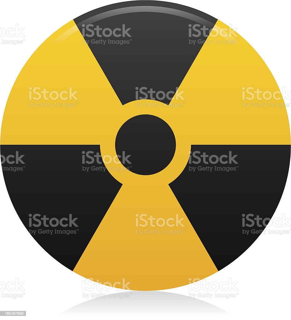 Website & Internet Icon : Radioactive / Burn royalty-free stock vector art