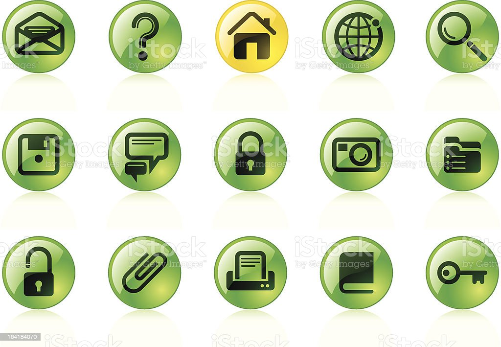 Website & Internet icons royalty-free website internet icons stock vector art & more images of business