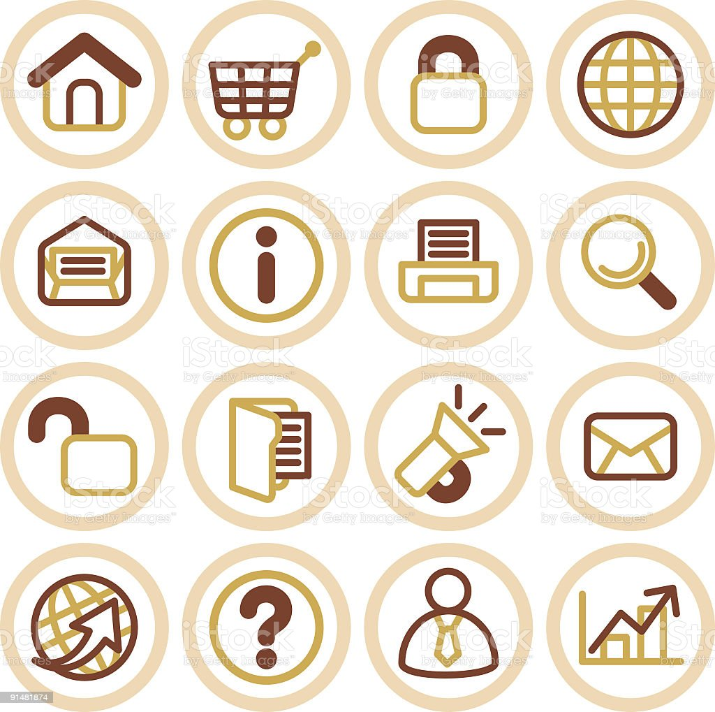 Website & Internet icons royalty-free website internet icons stock vector art & more images of arranging