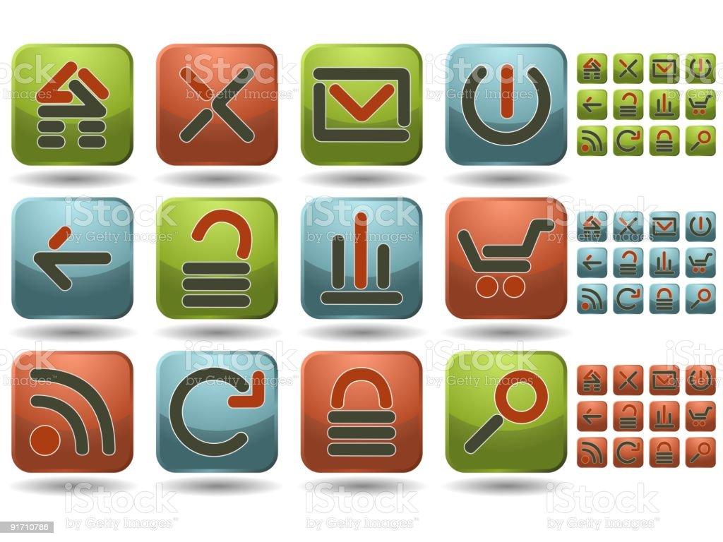 Website starter kit royalty-free website starter kit stock vector art & more images of blue