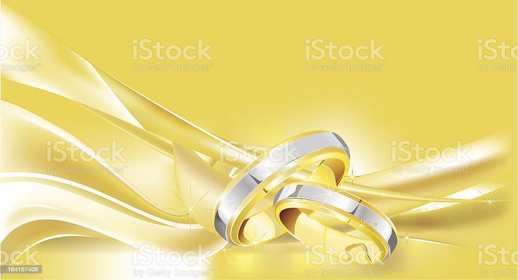 Wedding card royalty-free stock vector art