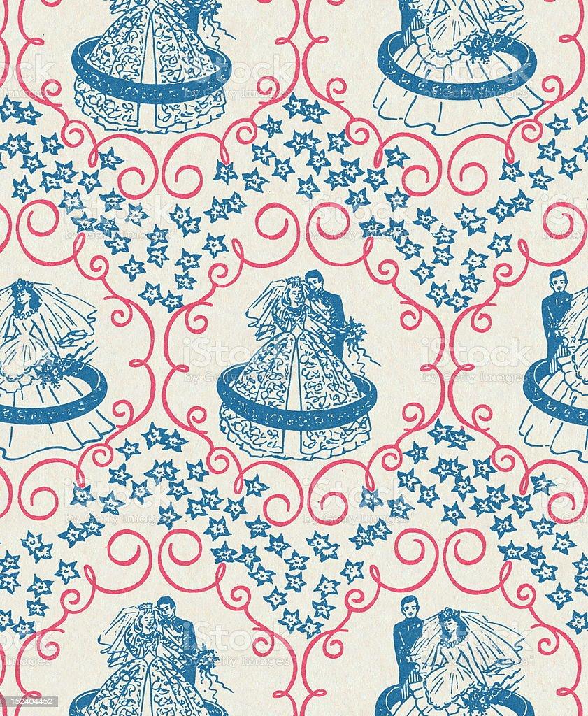 Wedding Pattern royalty-free stock vector art
