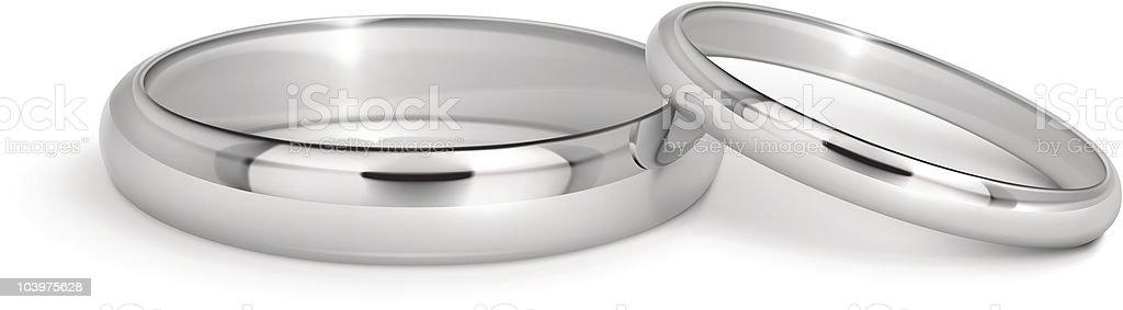 Wedding rings royalty-free wedding rings stock vector art & more images of bonding