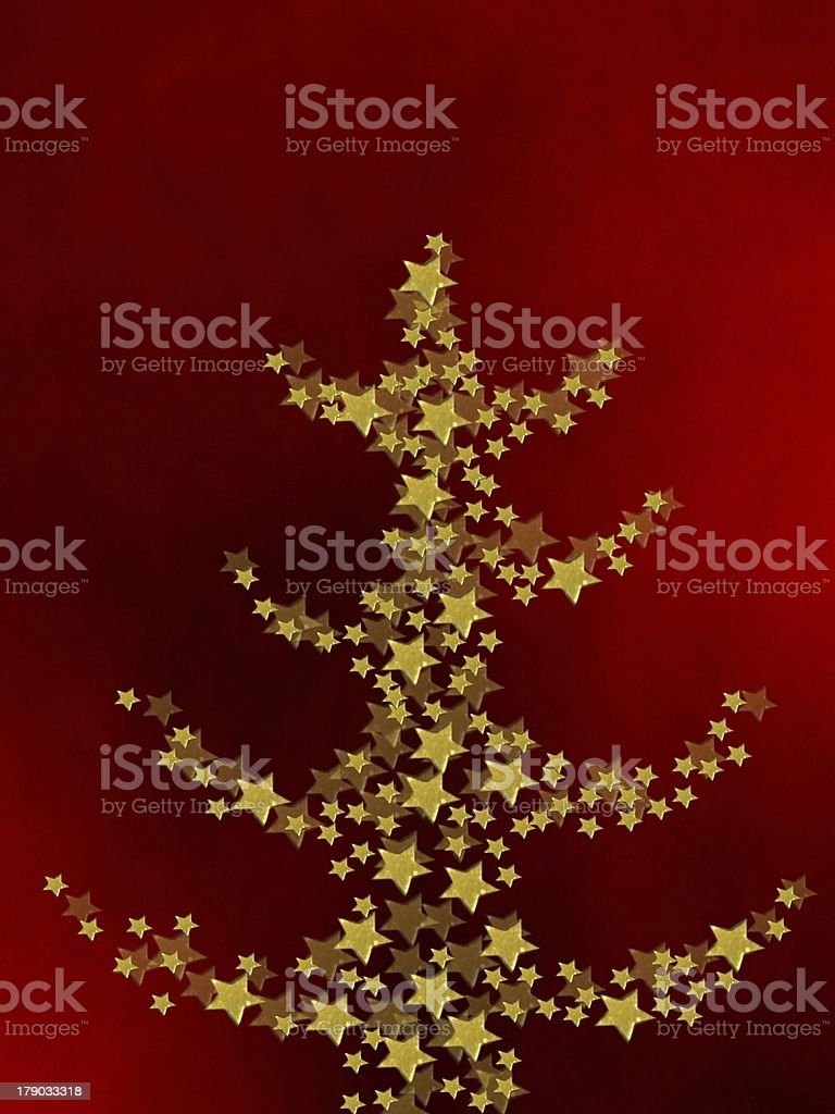 Weihnachtsbaum royalty-free stock vector art