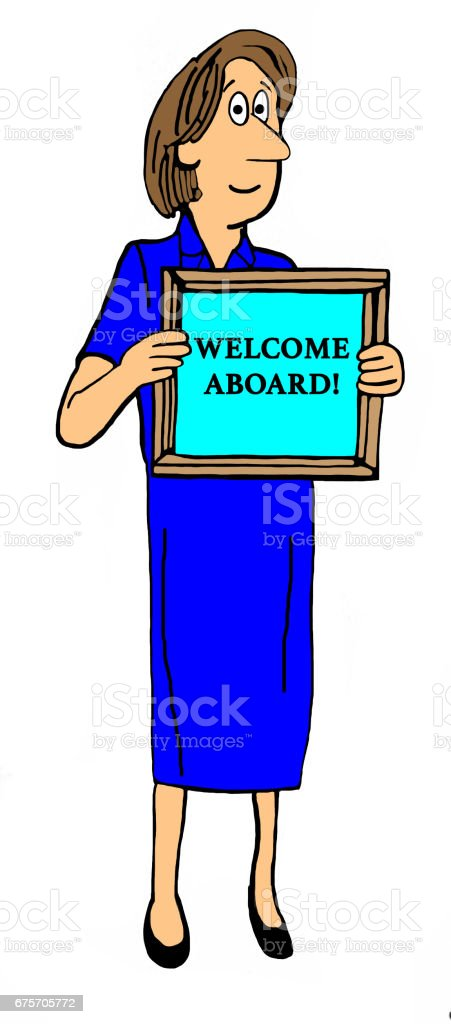Welcome Aboard royalty-free welcome aboard stock vector art & more images of aboard
