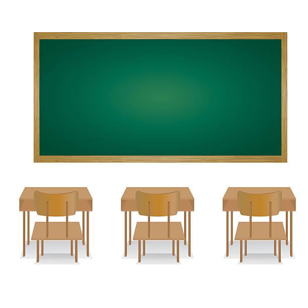 Royalty Free Empty Classroom Clip Art, Vector Images ...