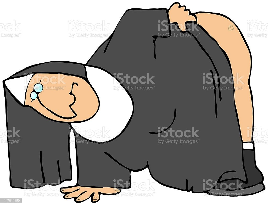 Nun's Tattoo royalty-free nuns tattoo stock vector art & more images of adult