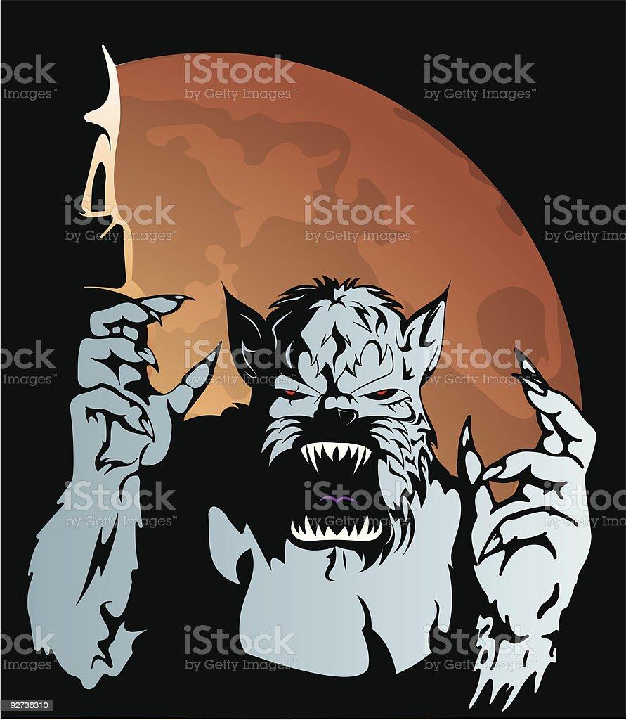 werewolf royalty-free werewolf stock vector art & more images of animal