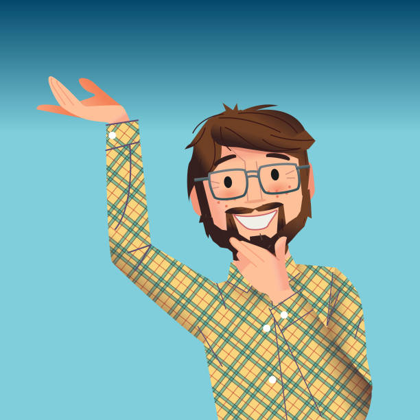 what a great idea - plaid shirt stock illustrations