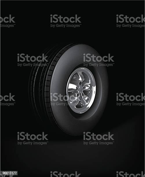 Roda - Arte vetorial de stock e mais imagens de Alumínio