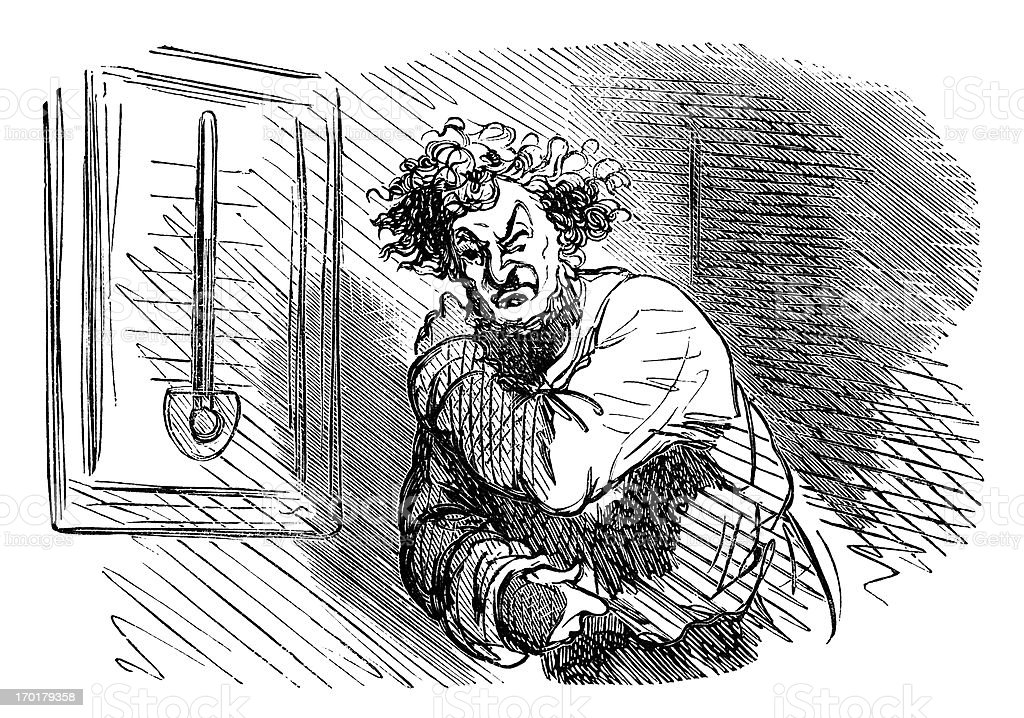 When the temperature changes, rheumatism strikes royalty-free when the temperature changes rheumatism strikes stock vector art & more images of 1860-1869