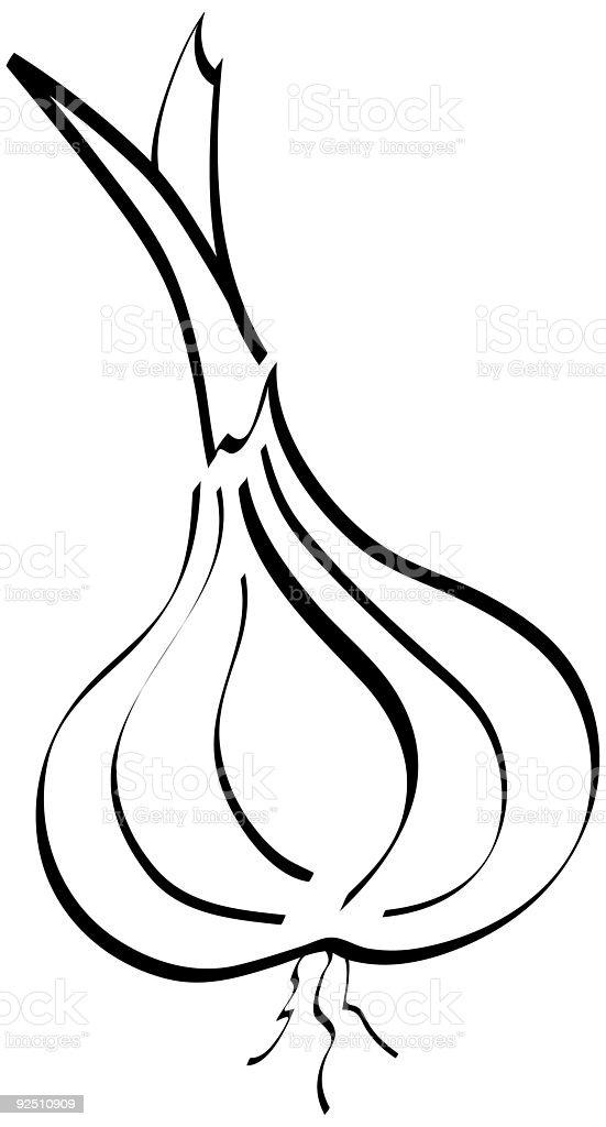 Whimsical Garlic royalty-free whimsical garlic stock vector art & more images of bud
