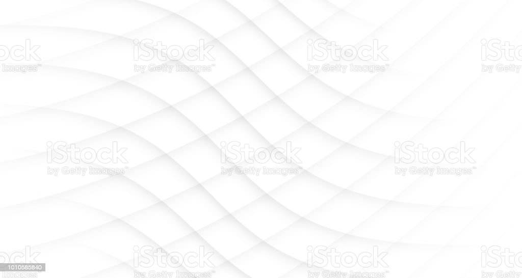 White Abstract Modern Background With Gray Curve Line Motion , Wallpaper , Banner, Presentation Background