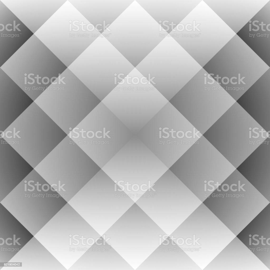 Möbel Wohnen Geometrisch Formen Kachel Mosaik Grau Bettwäsche