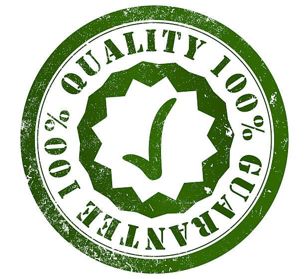 Sello de garantía de calidad - ilustración de arte vectorial