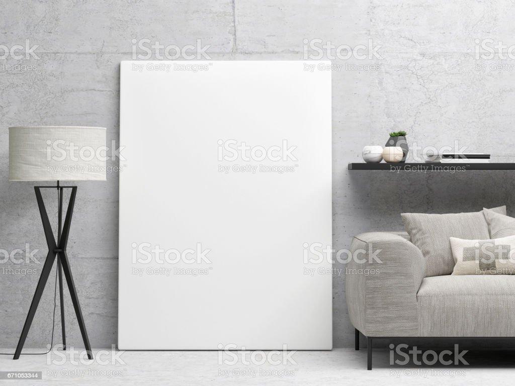 White close up poster, hipster background vector art illustration