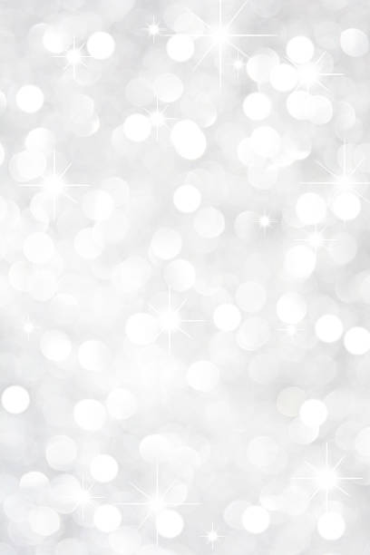 white crystal glitter background with stars - textured effect stock illustrations