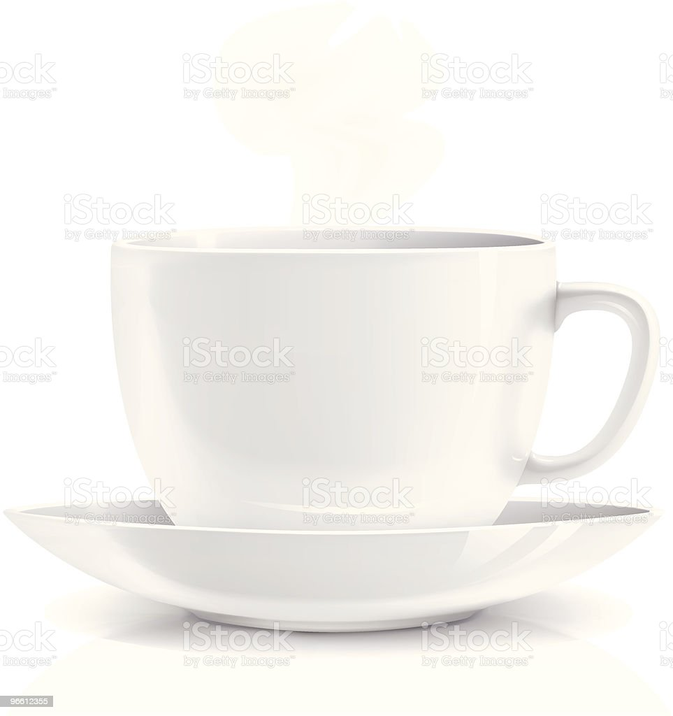 White cup royalty-free white cup stock vector art & more images of blank