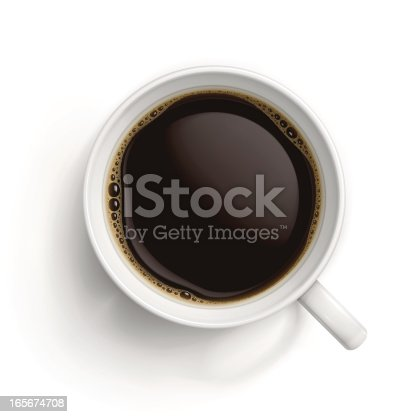 istock White cup with black coffee 165674708