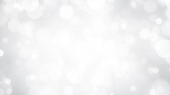 White Bokeh with Soft Vignette