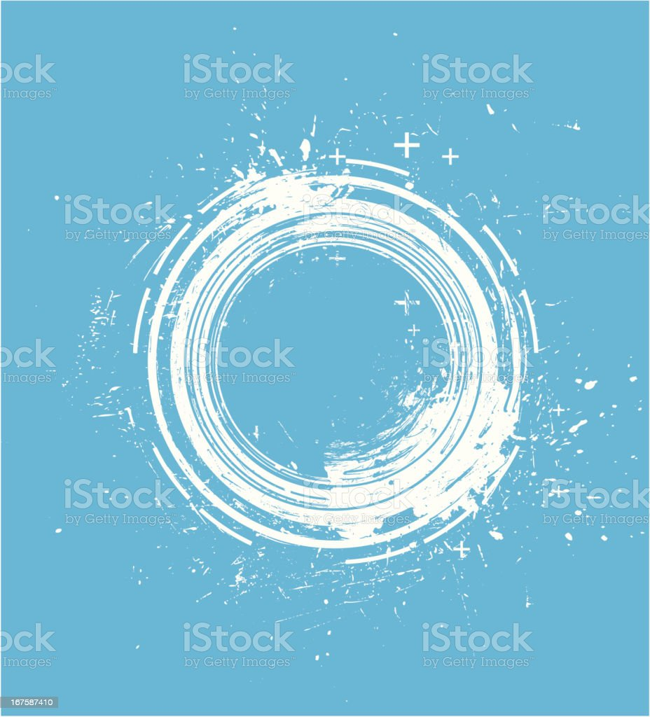 White grunge circle royalty-free white grunge circle stock vector art & more images of abstract