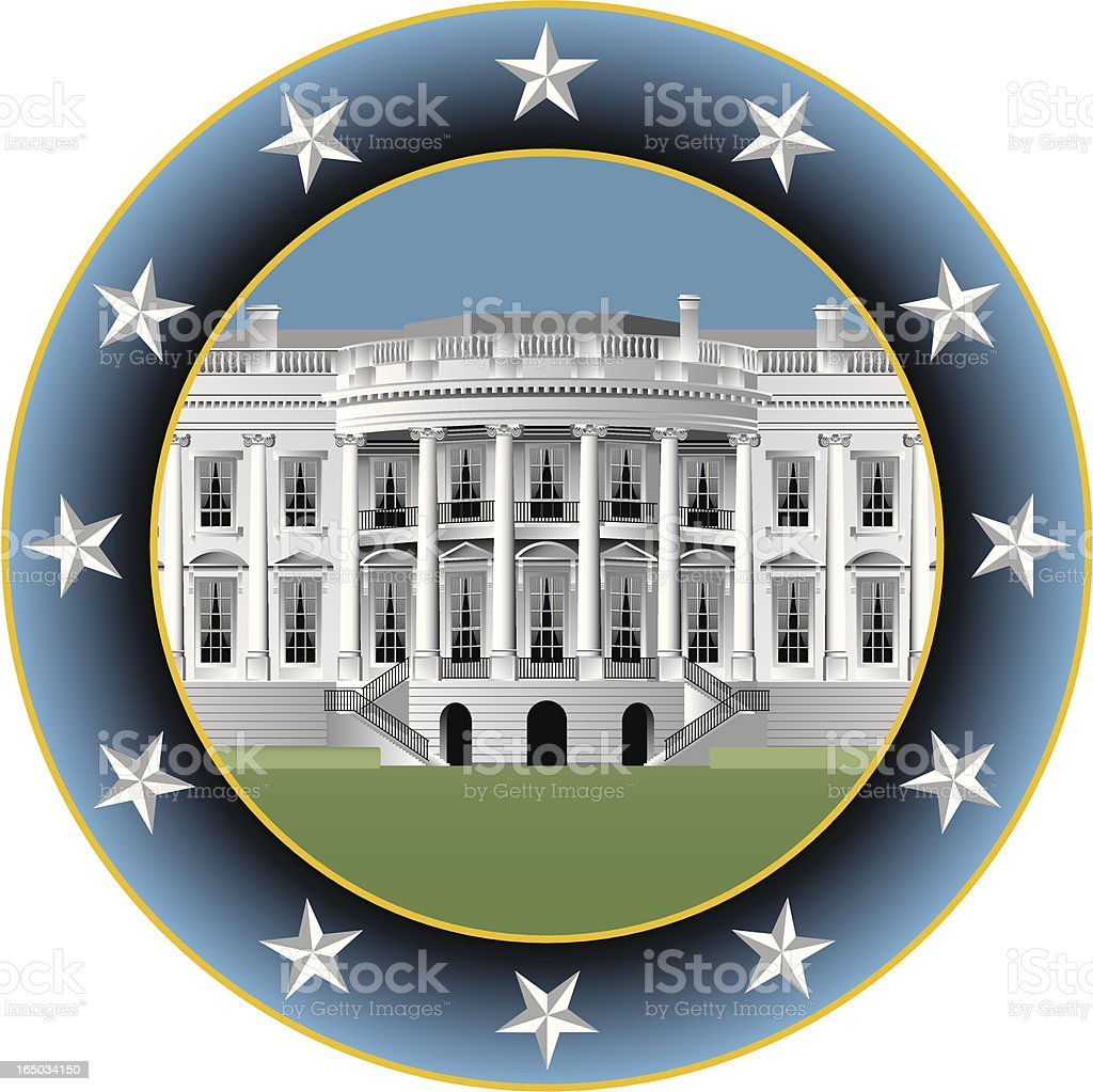 white house circle royalty-free white house circle stock vector art & more images of american culture