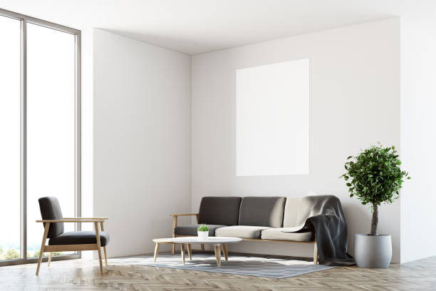 Royalty Free Art Deco Living Room Clip Art, Vector Images ...
