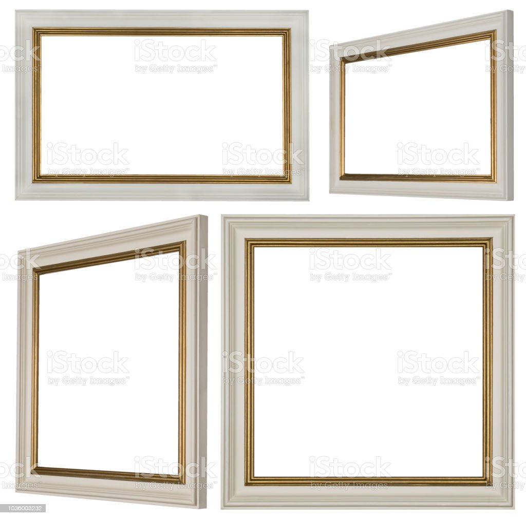 White Rectangular And Square Picture Frames Stock Vector Art & More ...
