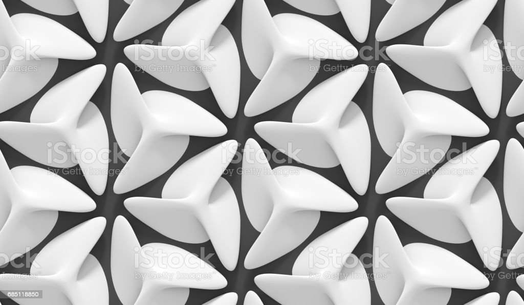White shaded abstract geometric pattern. Origami paper style. 3D rendering background. royalty-free white shaded abstract geometric pattern origami paper style 3d rendering background stock vector art & more images of architecture