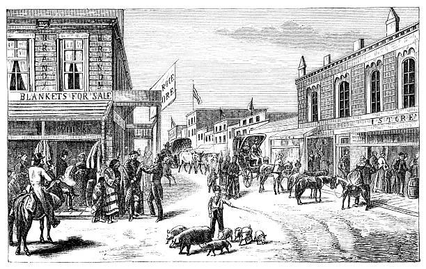 Wichita  1880 stock illustrations