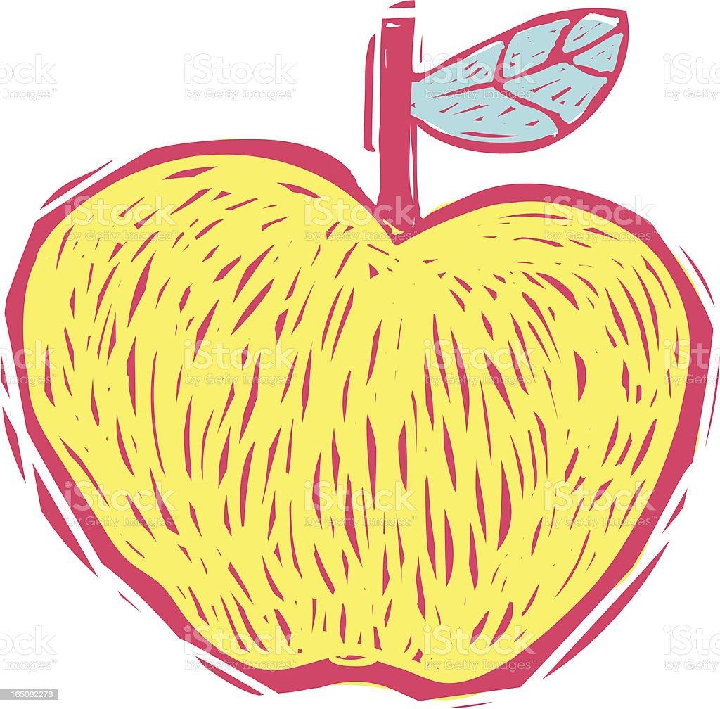Wild Apple royalty-free stock vector art