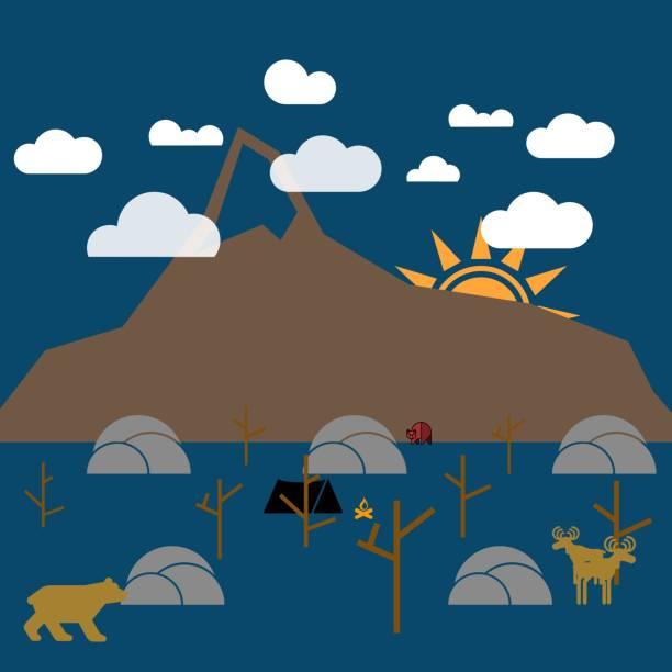 ilustrações de stock, clip art, desenhos animados e ícones de wilderness - ronaldo