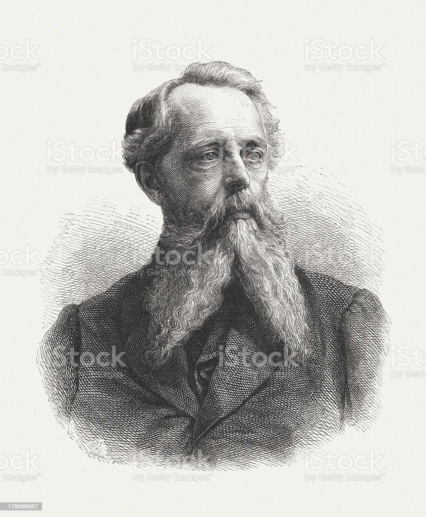 Wilhelm Camphausen (1818-1885), German painter, wood engraving, published in 1871 royalty-free wilhelm camphausen german painter wood engraving published in 1871 stock vector art & more images of engraved image