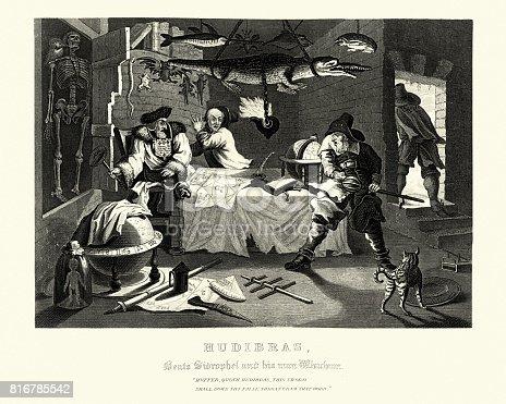 istock William Hogarth's Hudibras Beats Sidrophel and his man 816785542