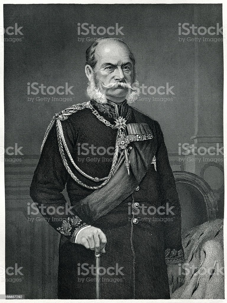 William I, Emperor Of Germany royalty-free william i emperor of germany stock vector art & more images of 1873