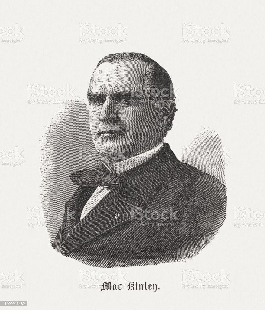 ウィリアムマッキンリー第25代アメリカ合衆国大統領1898年出版 - 19 ...