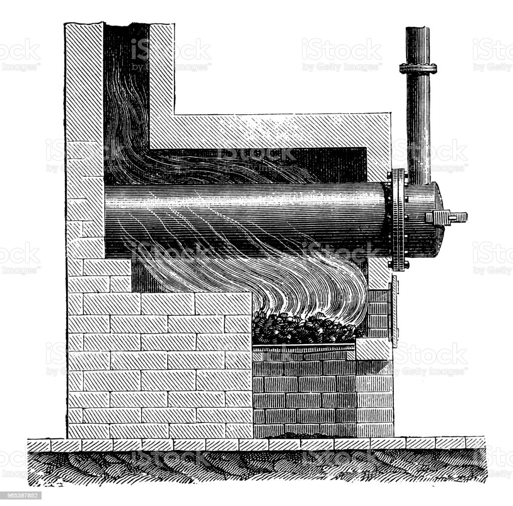 William Murdoch (August 21,1754 - November 15, 1839) ,Machine for Coal Gas Distillation, 1790 royalty-free william murdoch machine for coal gas distillation 1790 stock vector art & more images of 19th century style