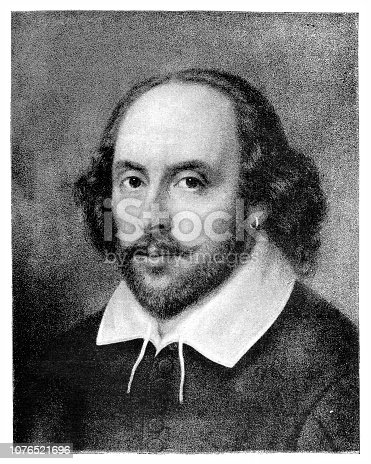 Illustration of a William Shakespeare