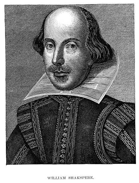 bildbanksillustrationer, clip art samt tecknat material och ikoner med william shakespeare - celebrities of age