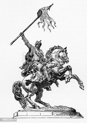 William The Conqueror 10271087 Engraving Stock Vector Art