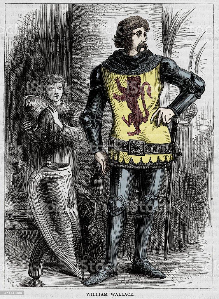 Ilustración de William Wallace y más banco de imágenes de Armadura ...