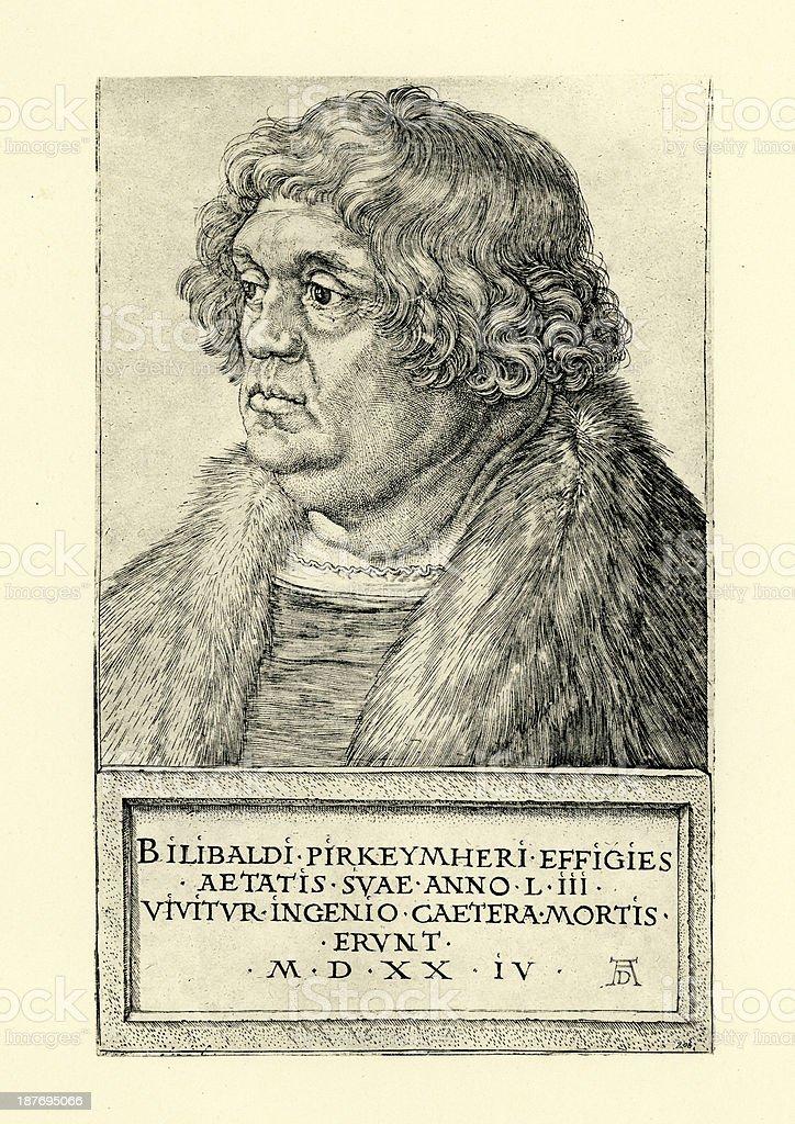 Willibald Pirckheimer royalty-free willibald pirckheimer stock vector art & more images of 16th century