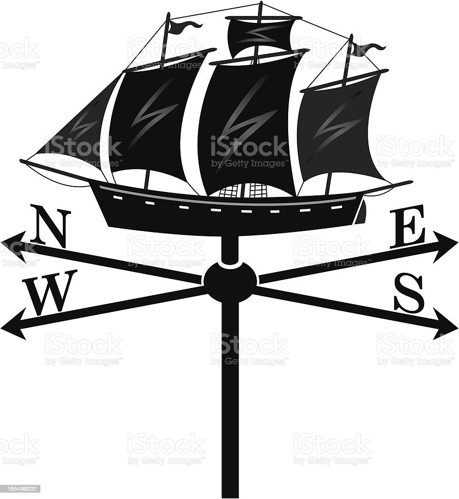 Windvane two royalty-free windvane two stock vector art & more images of direction